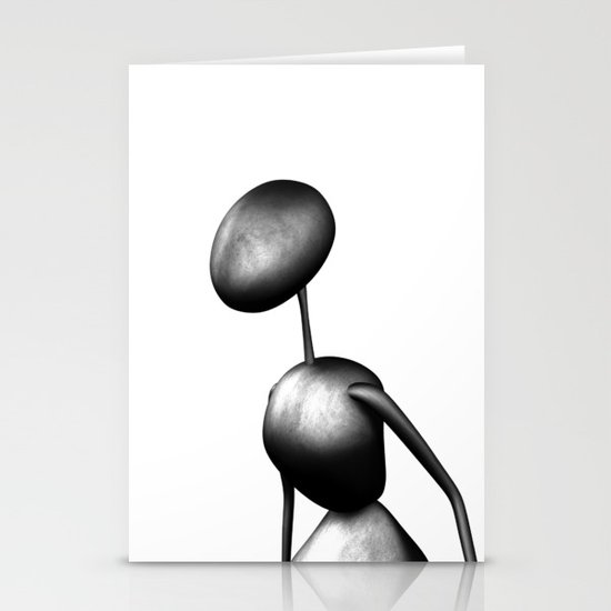 AntWoman  Stationery Cards