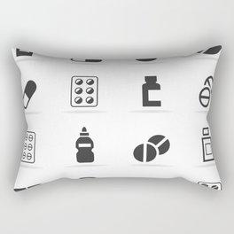 Tablet an icon Rectangular Pillow