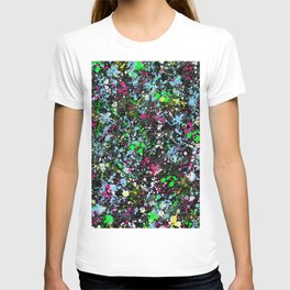 paint drop design - abstract spray paint drops 2 T-shirt