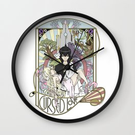 Cursed Love - Mavis and Zeref Wall Clock