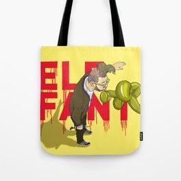 Elefant...or Elephant? Tote Bag