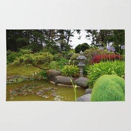 Japanese Garden Lantern Rug