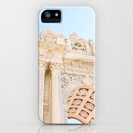 Istanbul Turkey Dolmabahçe Palace Gates Blue Sky iPhone Case