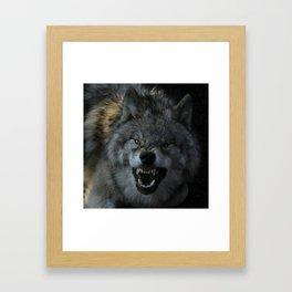 Malicious Intent Framed Art Print