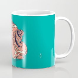 BLKS PLAY Squid + logo Coffee Mug