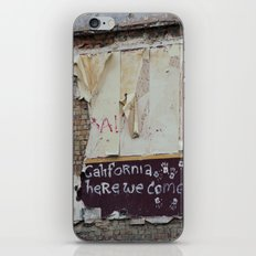 off to galifornia... iPhone & iPod Skin