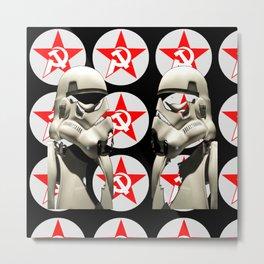 soccialismandstormtroopers Metal Print
