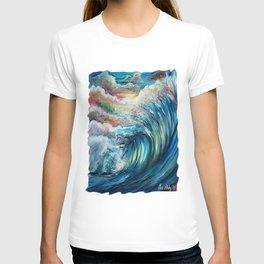 The Rainbow Wave T-shirt