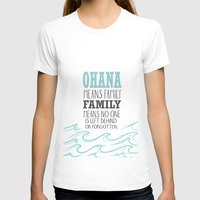 lilo and stitch T-shirts featuring ohana means family.. lilo and stitch disney...  by studiomarshallarts