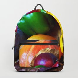 Autumnal Still with Fruits Backpack