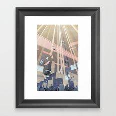Aeropolis - F-Zero GP Framed Art Print