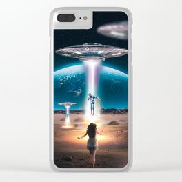 RAID AREA 51 Clear iPhone Case