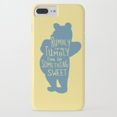 Rumbly in my Tumbly Time for Something Sweet - Winnie the Pooh inspired Print iPhone 7 Plus Slim Case