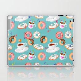 Coffee and Doughnuts Laptop & iPad Skin