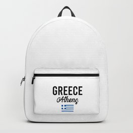 Greece Athens Travel Souvenir Gift Idea Backpack