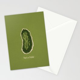 That's a Pickle! Stationery Cards