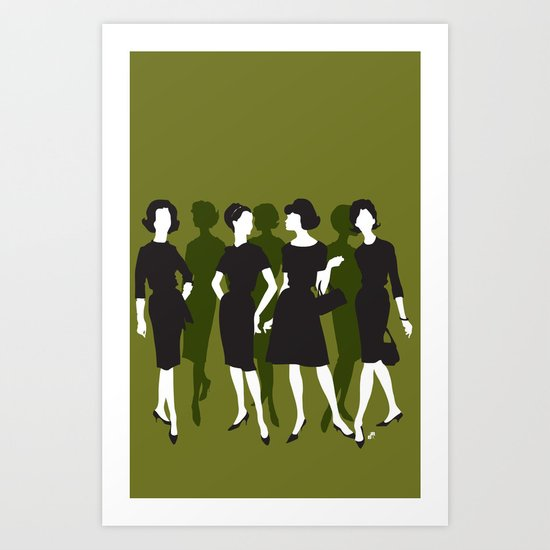 ladies Art Print