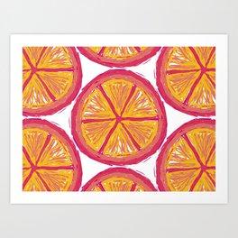 summer squeeze Art Print