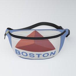 Small Boston Sunset Blue Fanny Pack