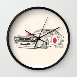 Crazy Car Art 0162 Wall Clock