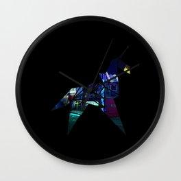 Horse Origami Wall Clock