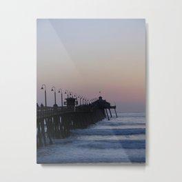 Goodnight Sun ~ Southern California Metal Print
