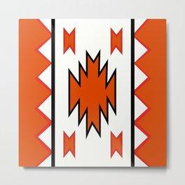 American Native Pattern No. 97 Metal Print