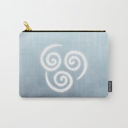 Avatar Air Bending Element Symbol Carry-All Pouch