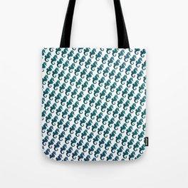 Sea Horse Pattern Tote Bag