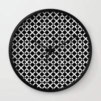 the xx Wall Clocks featuring XX by NENE W