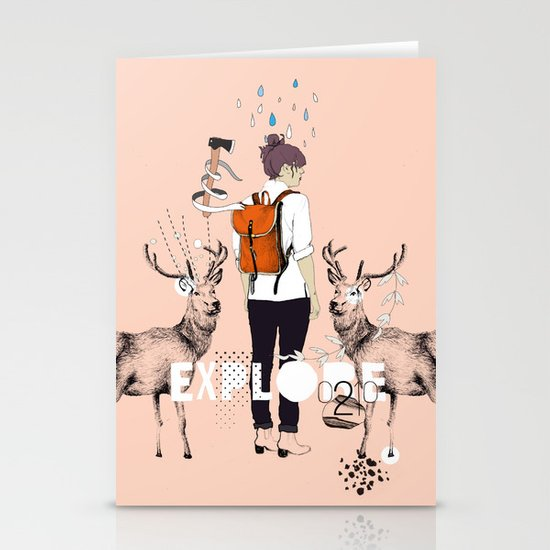 The Wilderness Stationery Cards
