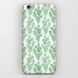 Cool Cacti in Green iPhone Skin