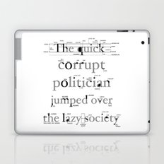 The Quick Corrupt Laptop & iPad Skin