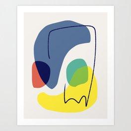 Color connection Art Print