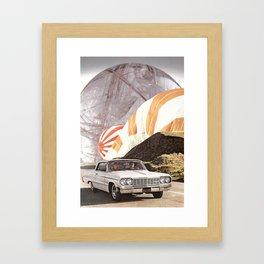 Cast Your Mind Forwards Framed Art Print