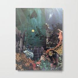 seaweed Metal Print