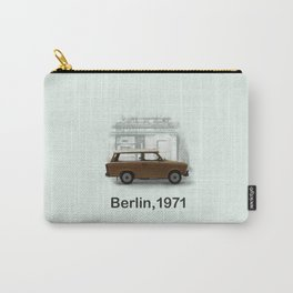 A Trabbi in Berlin Carry-All Pouch