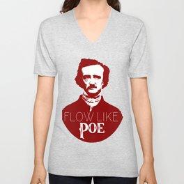 Flow like Poe Unisex V-Neck