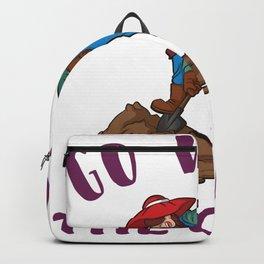 Go with the Grow lustige Landwirtschaft Backpack