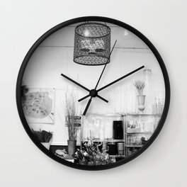 The Florist's Workshop Wall Clock