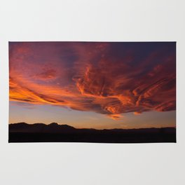 Desert Sky on Fire Rug
