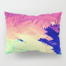Wild Color Abstract Pillow Sham