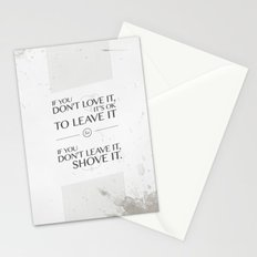 If you don't love it… A PSA for stressed creatives Stationery Cards