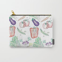 For the Love of Vegies Carry-All Pouch