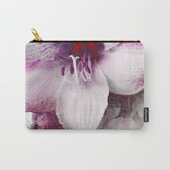 Amaryllis Flower(2) Carry-All Pouch