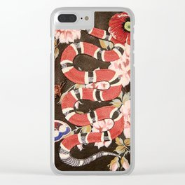 gc snake Clear iPhone Case