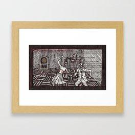 The Jukebox Framed Art Print