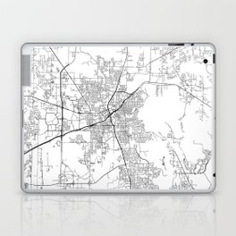 Minimal City Maps - Map Of Huntsville, Alabama, United States Laptop & iPad Skin