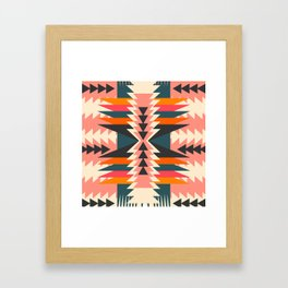 Colorful ethnic decoration Framed Art Print