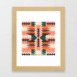 Colorful ethnic decoration Framed Art Print